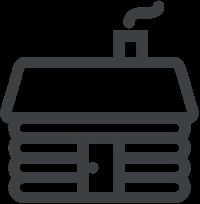 lodge icon grey